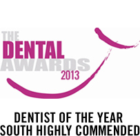 Dentist of the Year South – TheDentalAwards 2013
