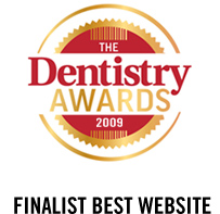 Finalist Best Website – TheDentistryAwards 2009
