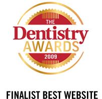 Finalist Best Website – TheDentistryAwards 2009