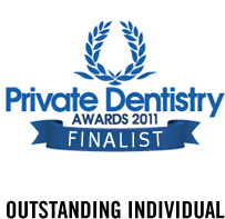 Outstanding Individual – Private Dentistry Awards 2011