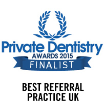 Best Referral Practice UK Award – Private Dentistry Awards 2015